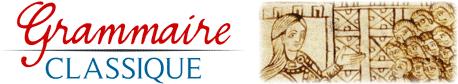 Librairie Grammaire classique | Catégories de produits | Grammaire classique