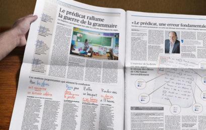 Revue de presse d'articles sur le niveau de l'éducation